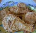Parmesan Chicken Drumsticks