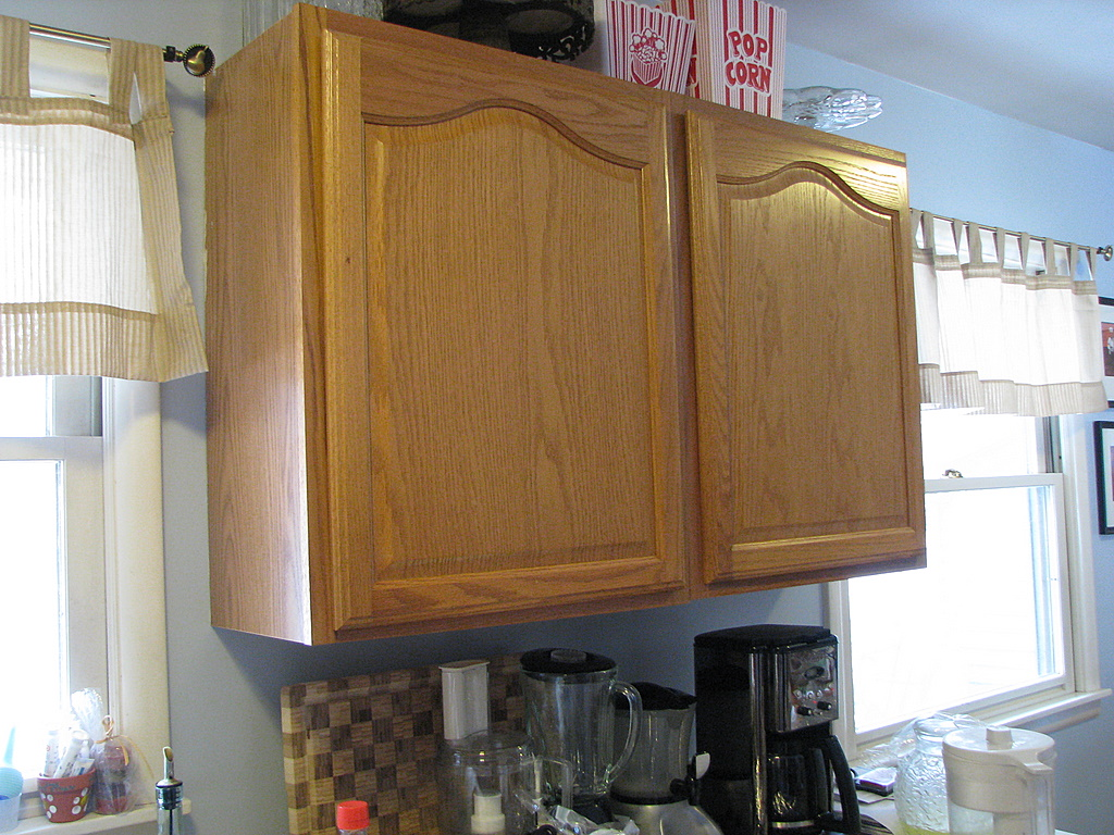Kitchen Cabinet Makeovers Before And After our kitchen makeover - momadvice
