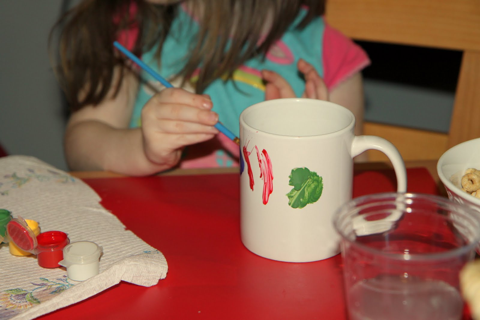 Fun Holiday Kid S Craft Painted Mugs Momadvice