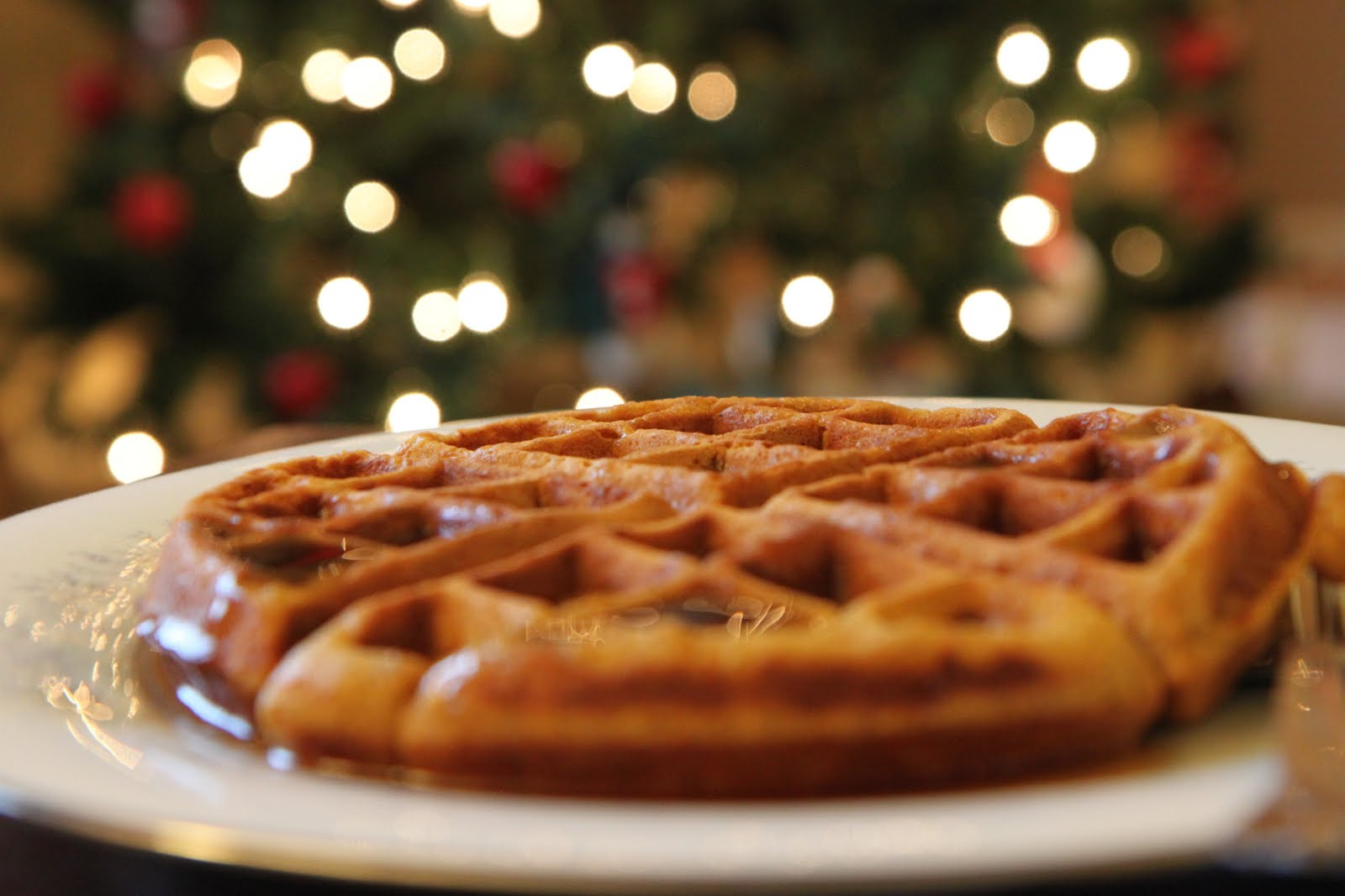 for waffles gingerbread waffles with gingerbread waffles with enlarge ...