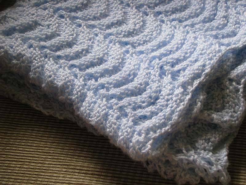 Knitting Kfbf : All knitted up sweet baby blankets momadvice