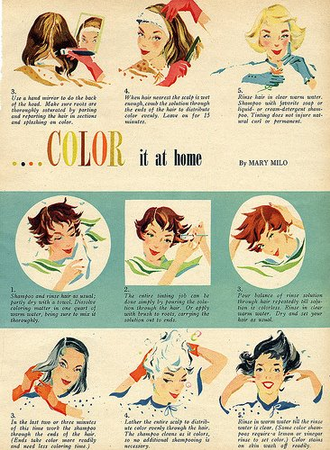 Do it yourself hair coloring