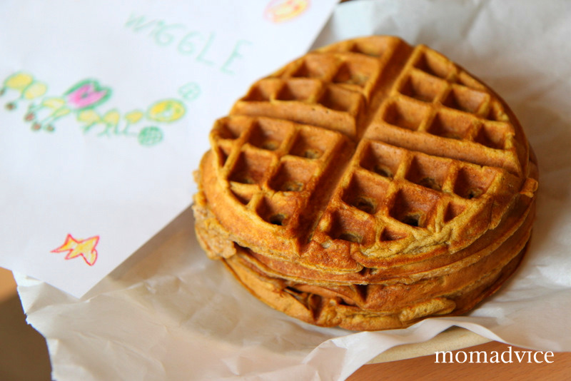 Deliciously Spiced Pumpkin Waffles - MomAdvice
