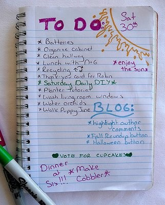 Play It Again, Momma: Simplifying Your To Do List