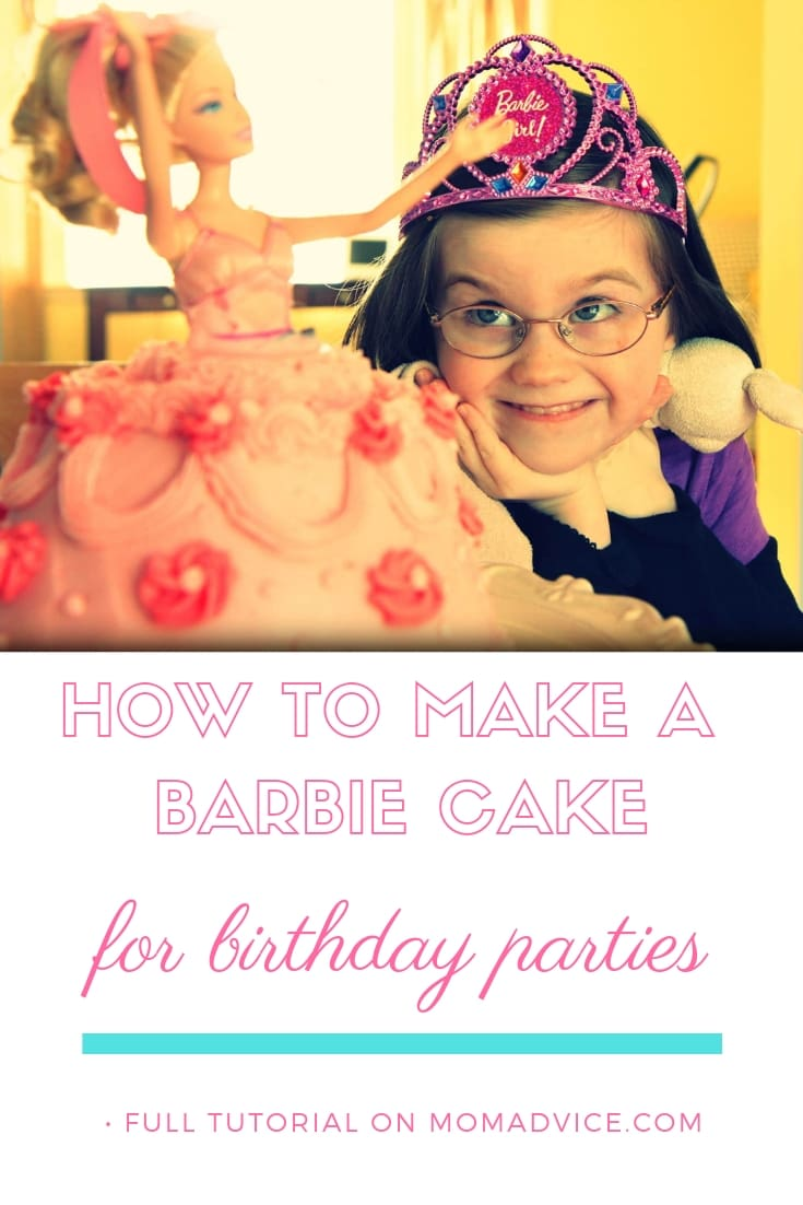 The Perfect Pink Barbie Cake Tutorial