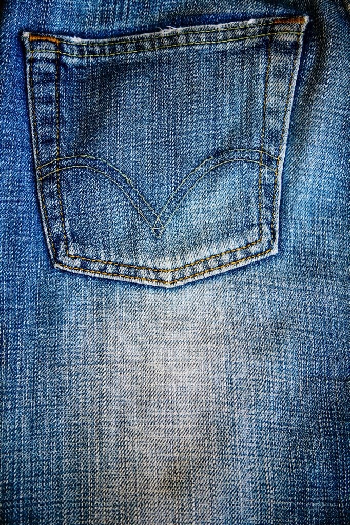 How to Dye a Faded Pair of Jeans from MomAdvice.com