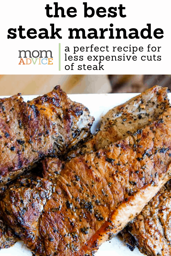 The Best Steak Marinade Recipe for Grilling from MomAdvice.com
