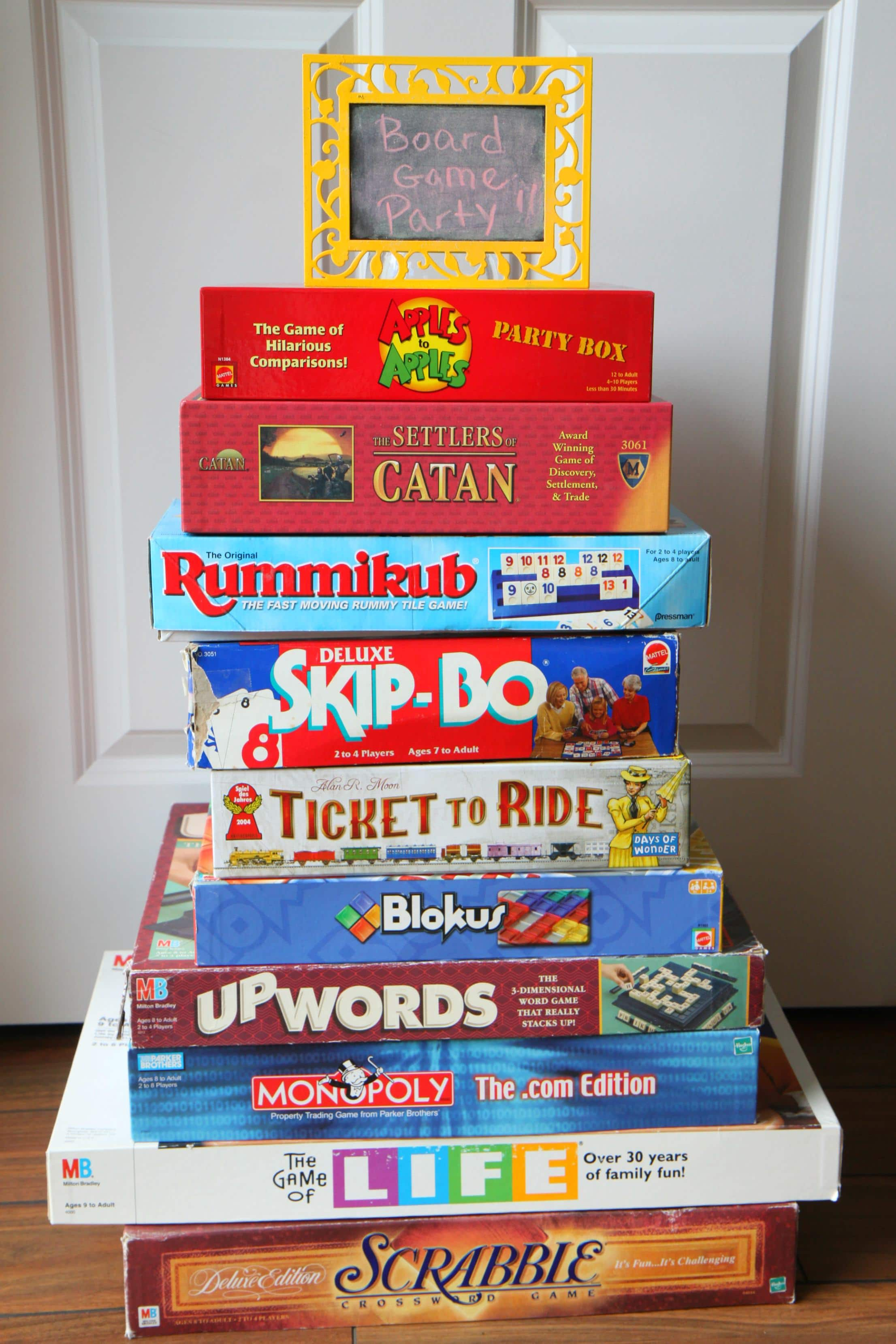 Throw a Board Game Party with Goodwill