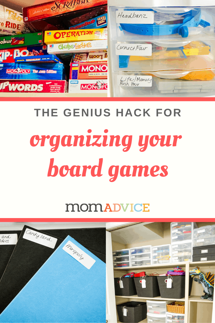 How to Organize Board Games from MomAdvice.com