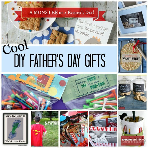 Cool DIY Father's Day Gifts