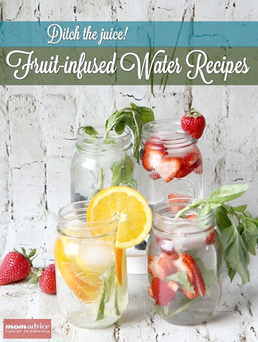 Ditch the Juice Box: Fruit-Infused Water Recipes