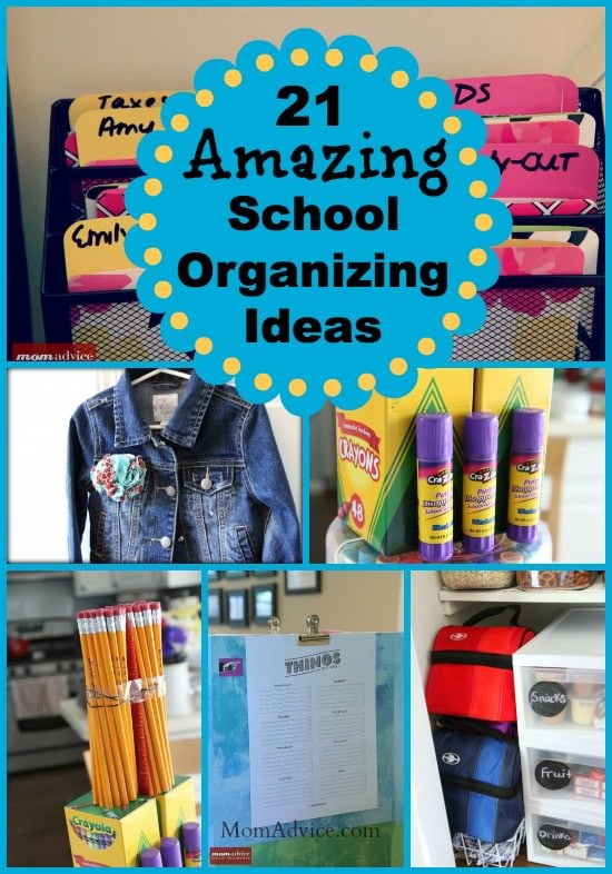 21 Back To School Organizing Ideas