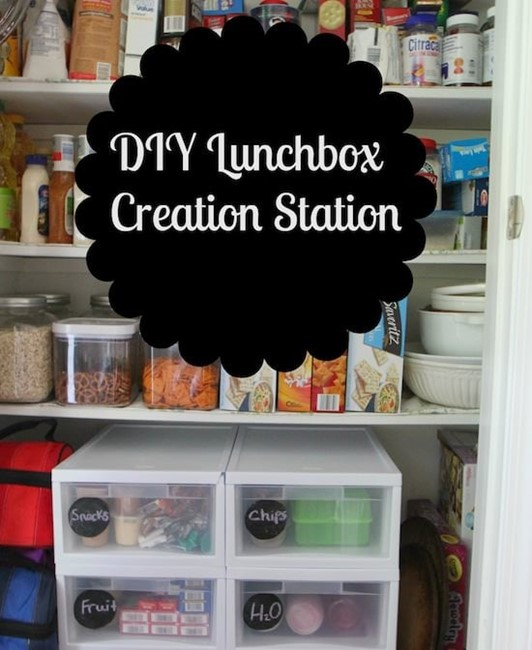 DIY Lunchbox Creation Station