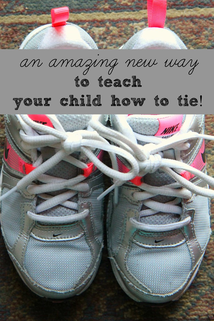 A New Way to Teach Your Child To Tie Their Shoes from MomAdvice.com