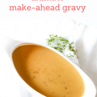 Ultimate Make-Ahead Gravy Recipe from MomAdvice.com