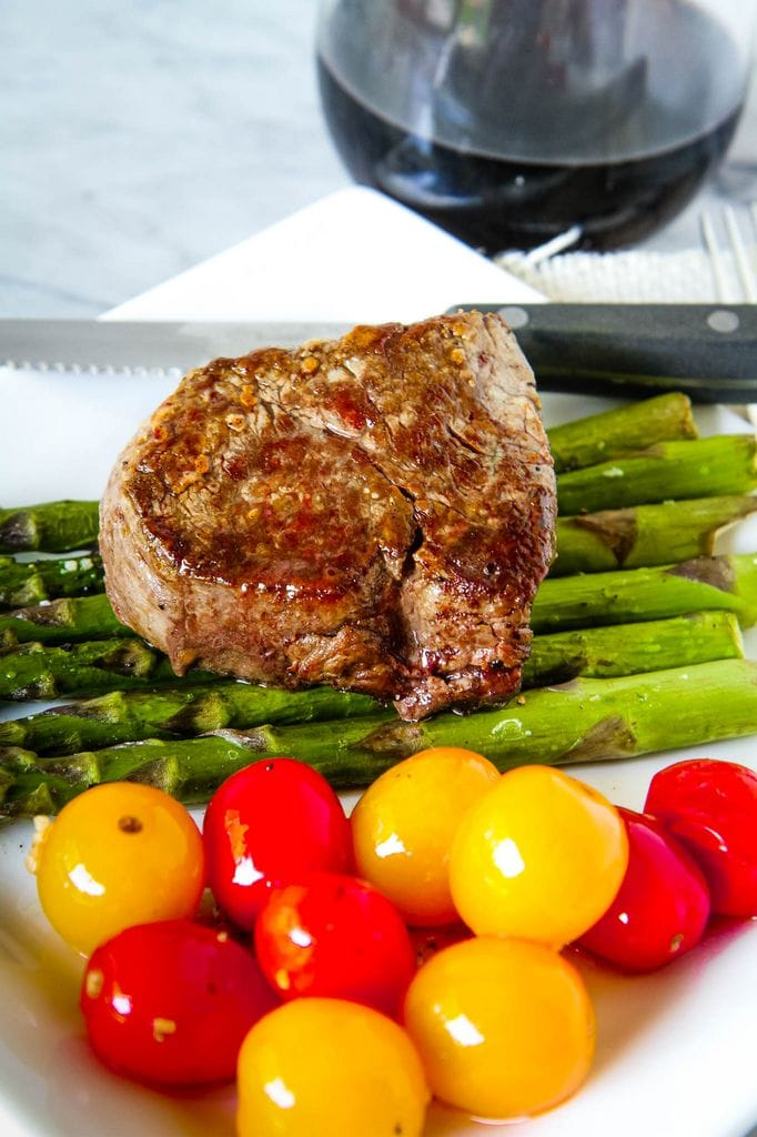 Pan Seared Oven Roasted Steak Recipe