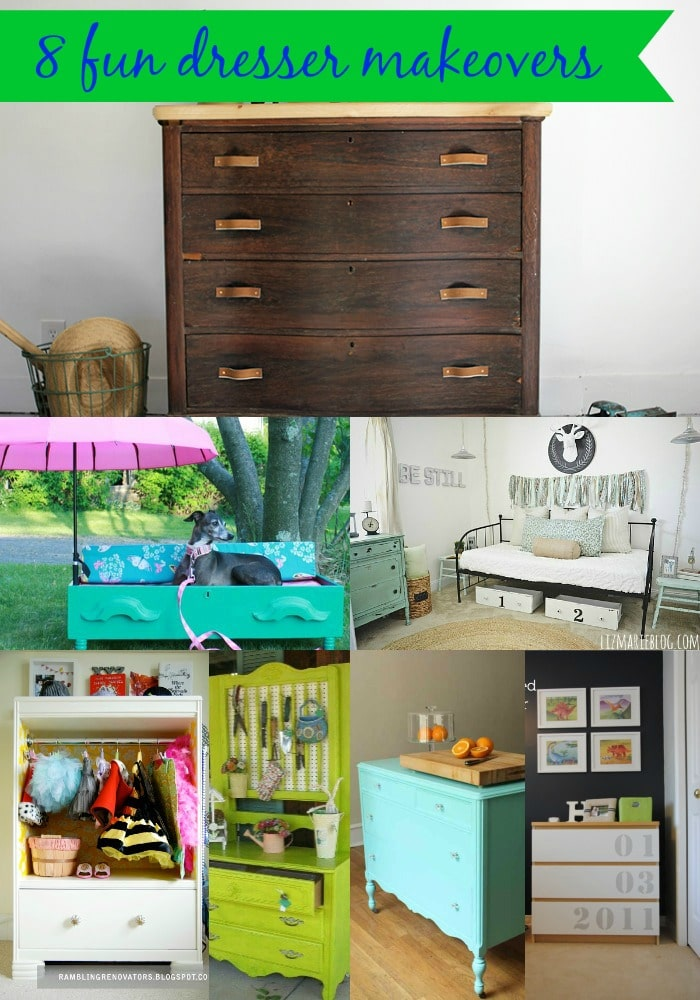 8 Fun Dresser Makeovers