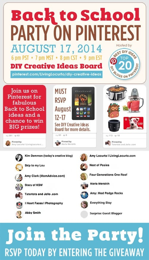 Back-To-School Pinterest Party