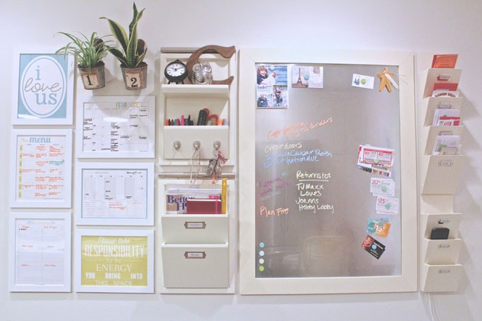8 DIY Command Center Ideas