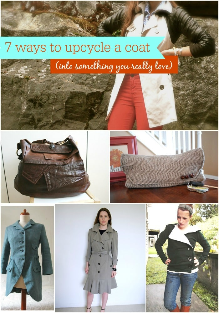 7 Ways to Upcycle a Coat Into Something You Really Love
