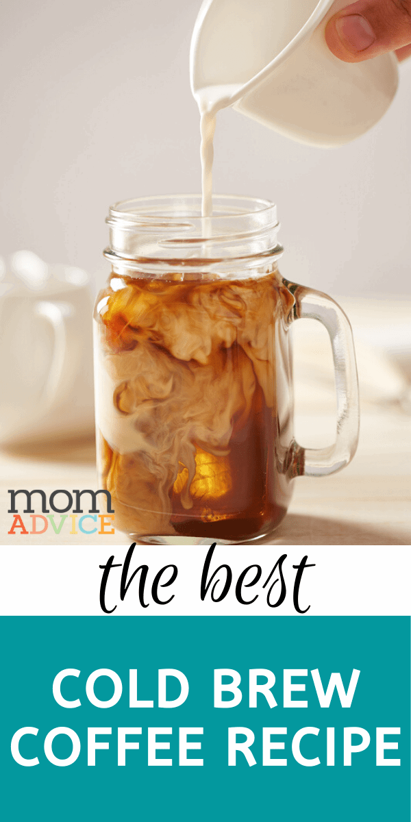 Cold Brew Coffee recipe from MomAdvice.com