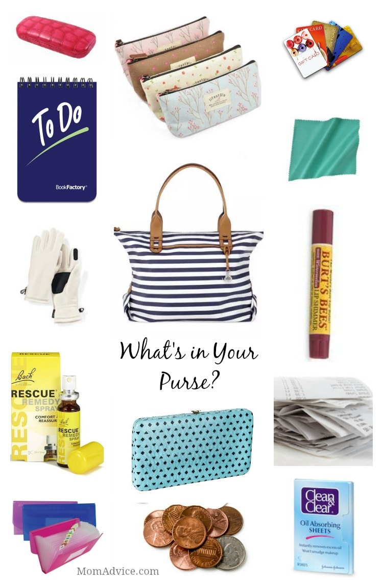 m challenge: What's In Your Purse?