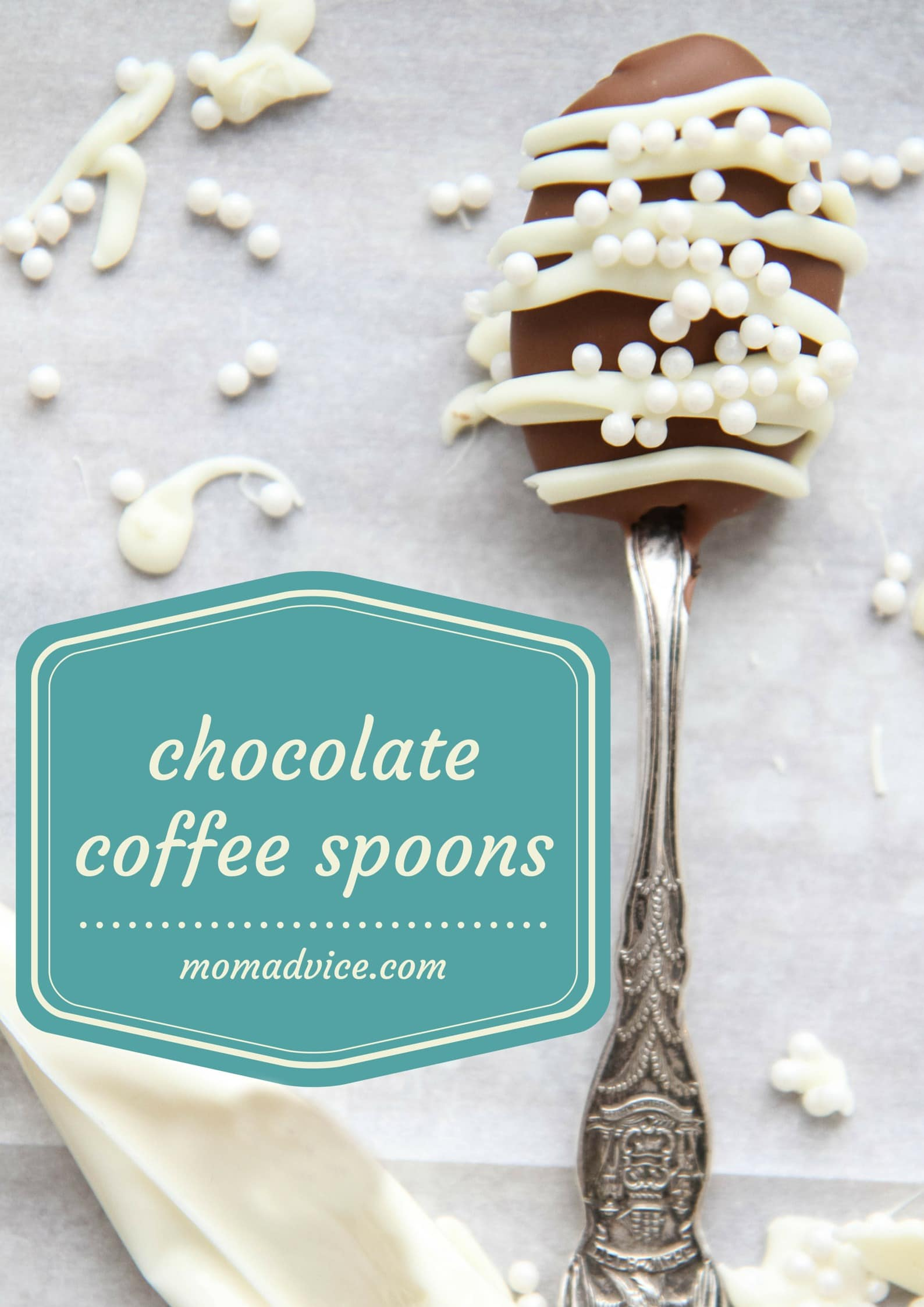 Chocolate Coffee Spoons from MomAdvice.com