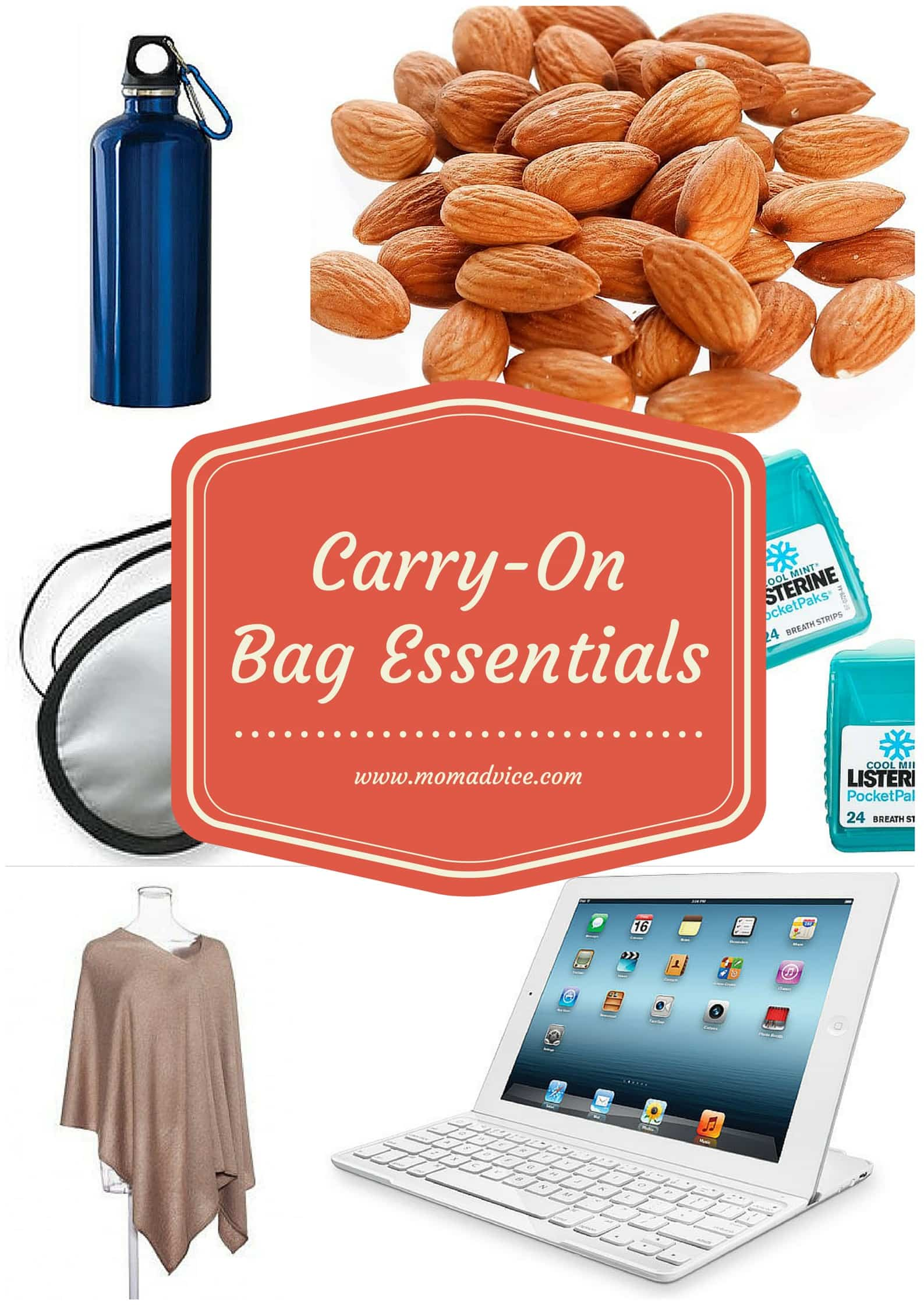 m challenge: What's in Your Carry On Bag?