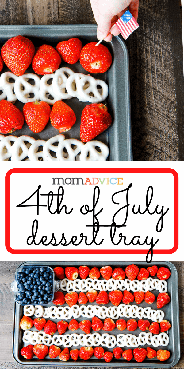 4th of July Dessert Tray from MomAdvice