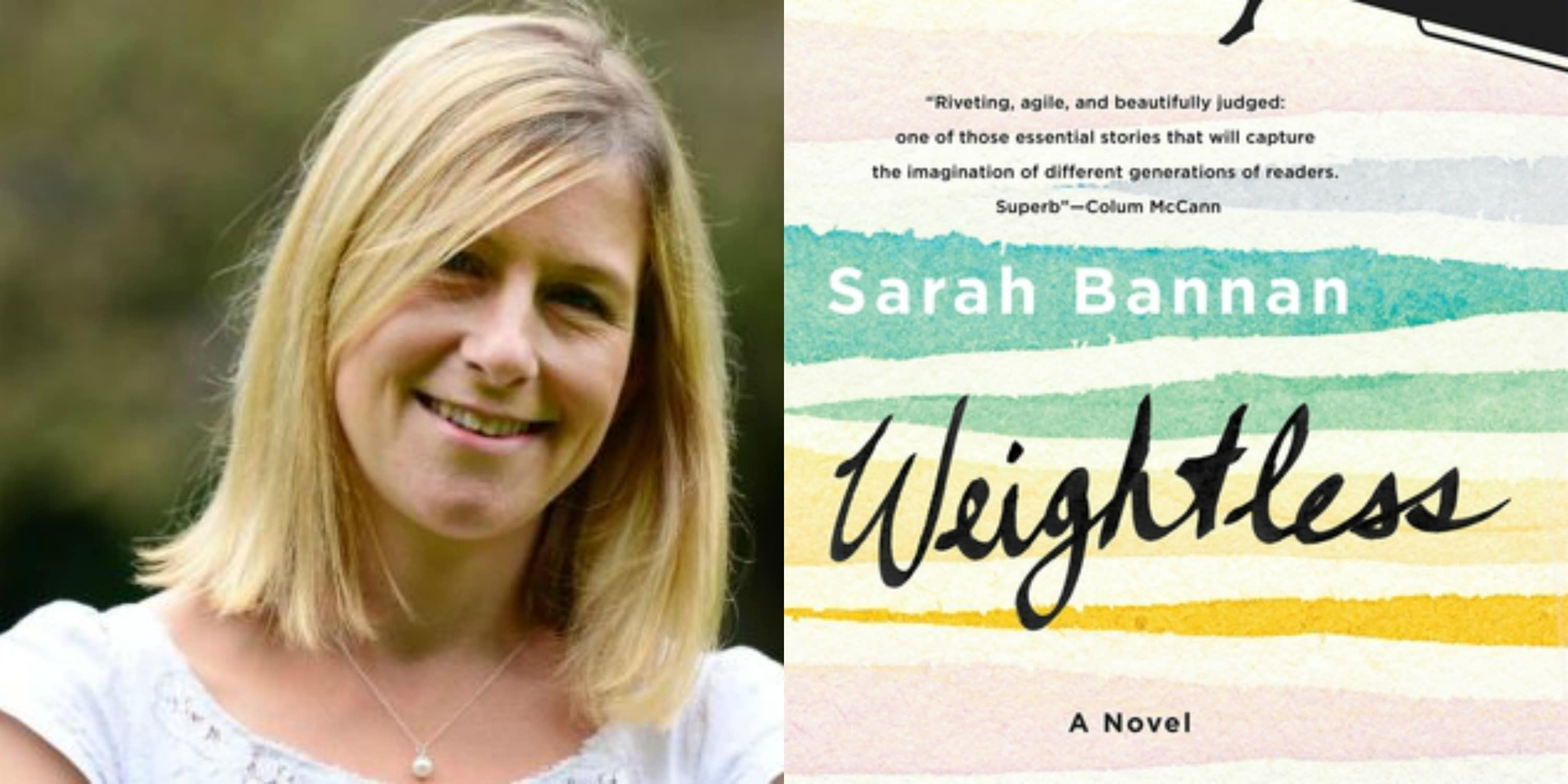 Sundays With Writers: Weightless by Sarah Bannan