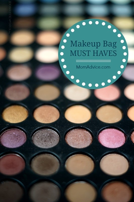 The Domestic Diva Shares: What's in Your Makeup Bag?