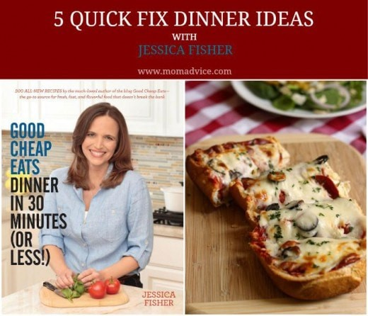 5 Quick Fix Dinner Ideas with Jessica Fisher