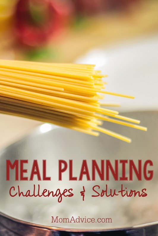3 Challenges & Solutions to Meal Planning for My Family
