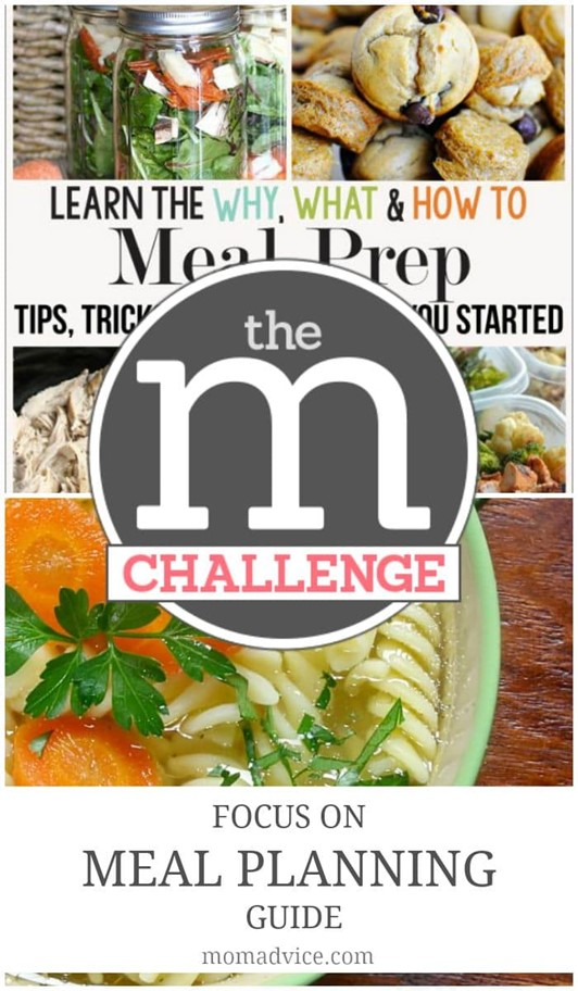 Amy's Notebook 09.03.15: M Challenge Meal Planning ...