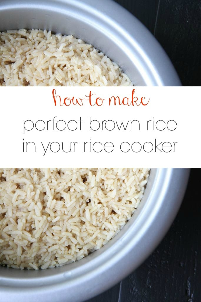Make-Ahead Tutorial: How to Make Perfect Brown Rice In Your ...