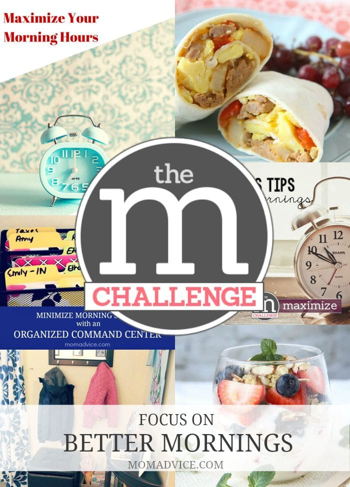 Amy's Notebook 10.01.15: Better Mornings M Challenge ...