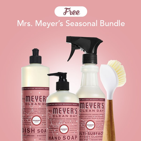 ePantry: Free Mrs. Meyer's Seasonal Scents Pack ($29 Value) + ...