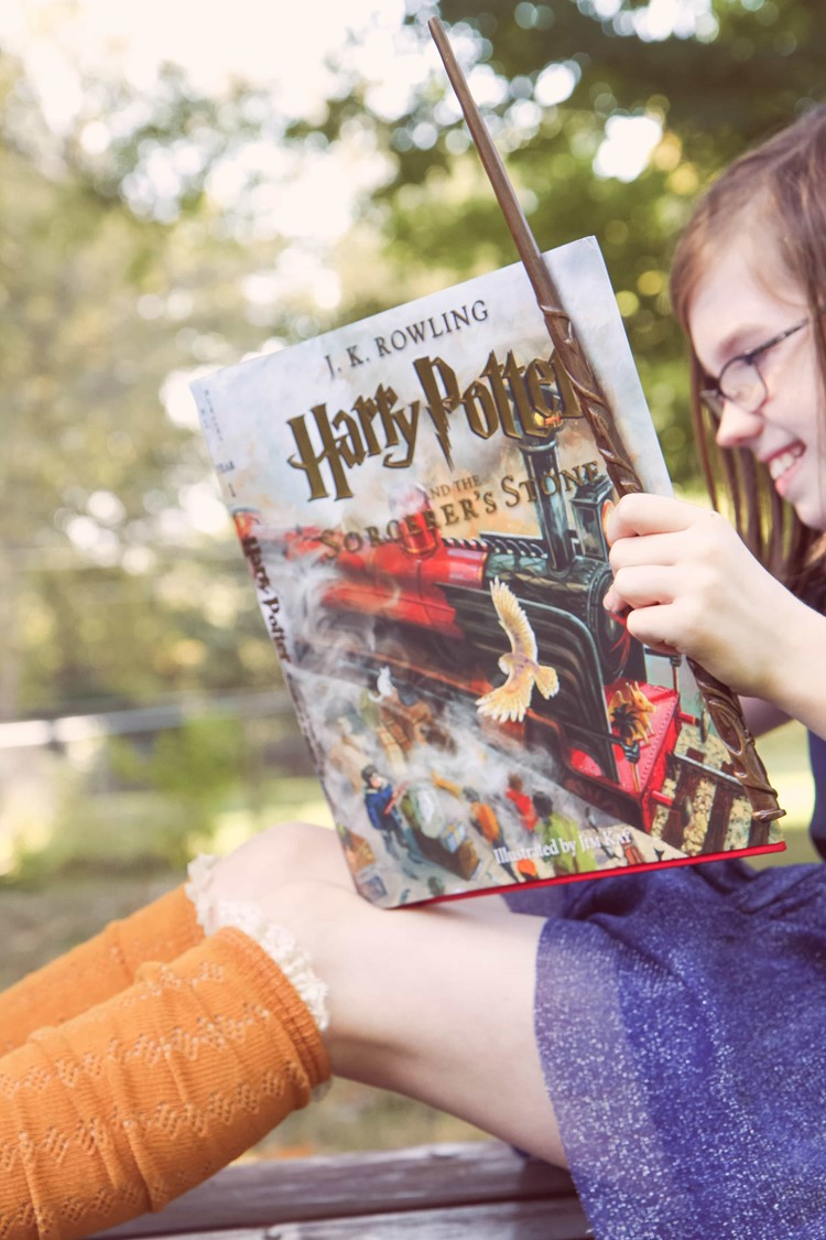 5 Book Series for Kids Who Love Harry Potter from MomAdvice.com
