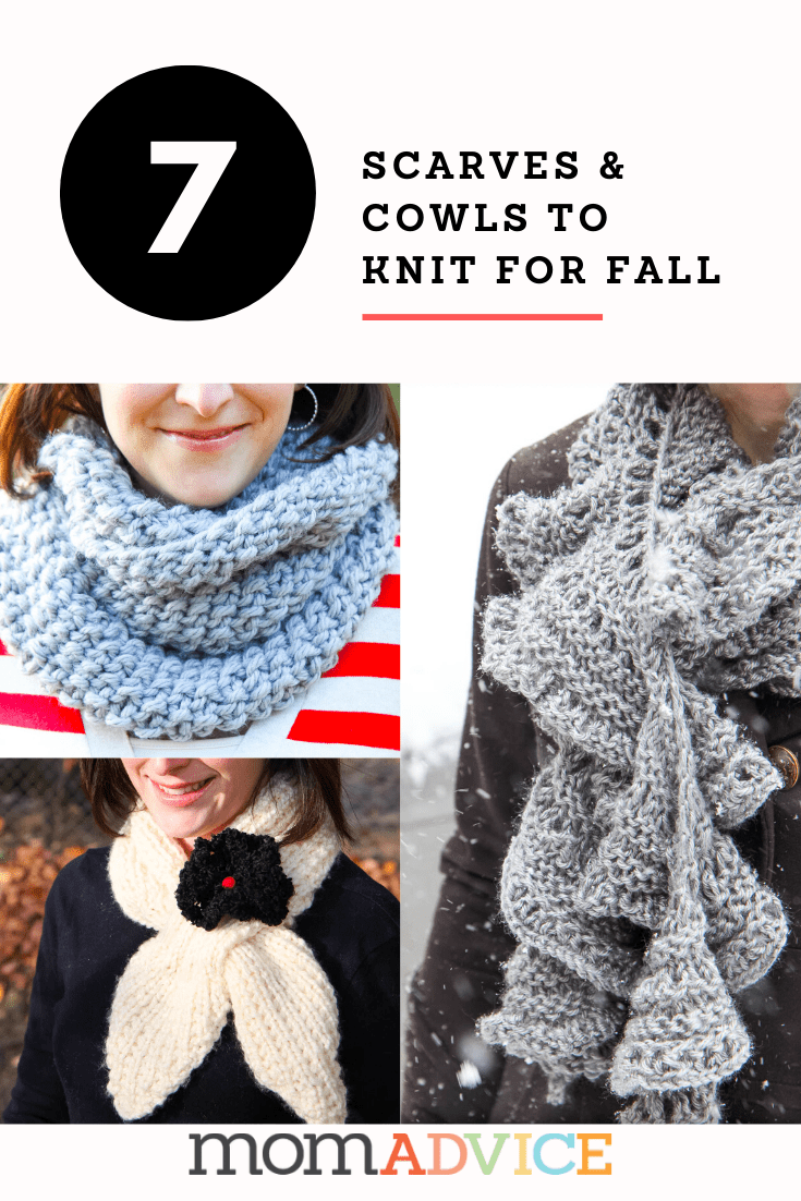 7 easy scarves and cowls to knit this fall