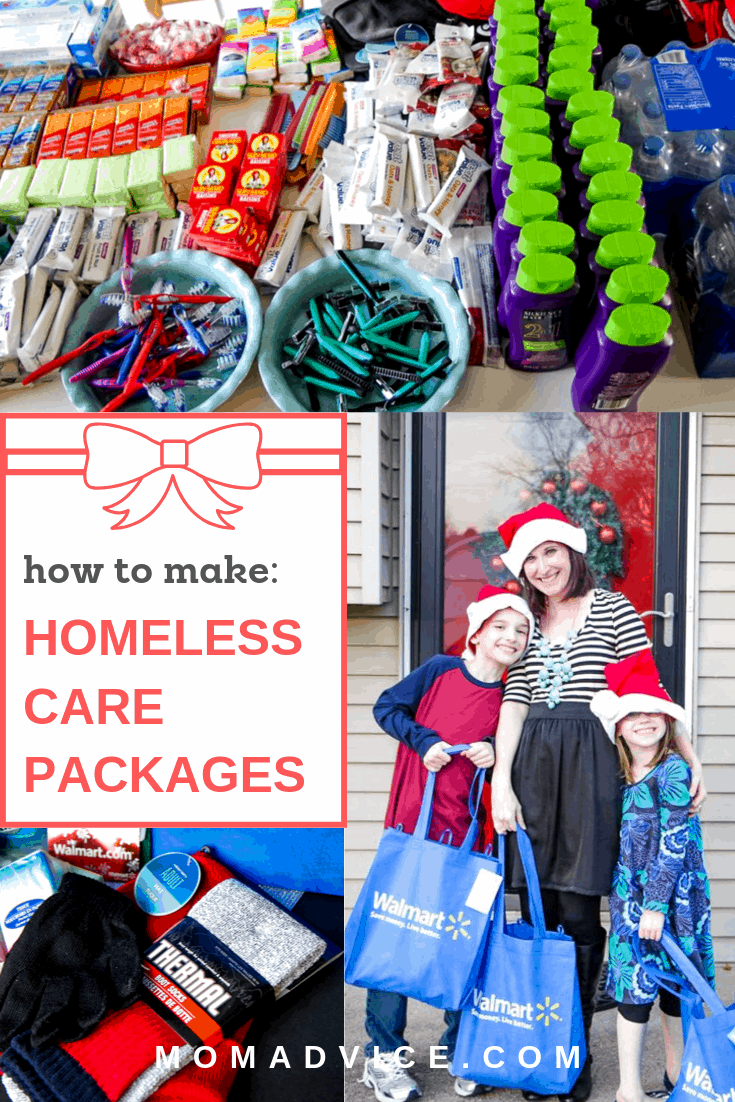 How to Make Homeless Care Packages from MomAdvice.com