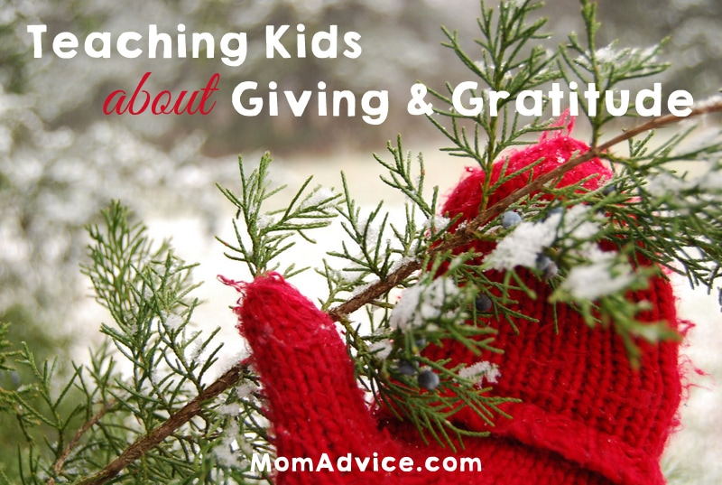 Teaching Kids About Giving & Gratitude