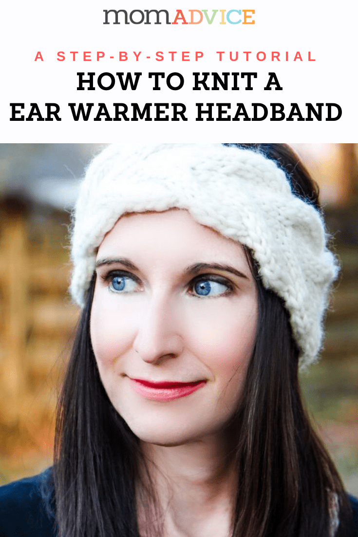 Ear Warmer Headband Knitting Pattern from MomAdvice.com Header