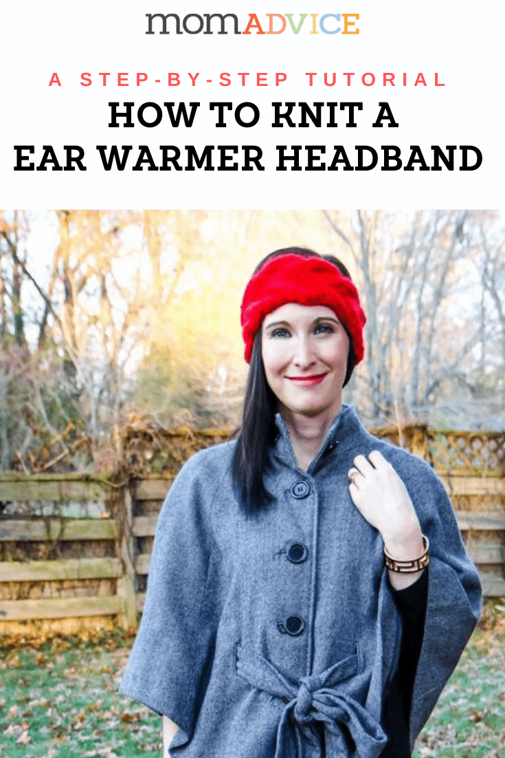 Ear Warmer Headband Knitting Pattern from MomAdvice.com