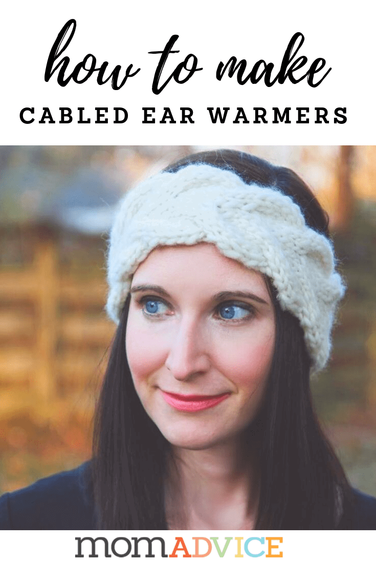 How to Cable: Knitted Ear Warmers For Those In Need from MomAdvice.com