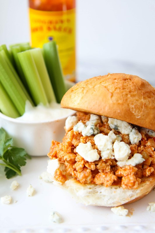 Gluten-Free Sloppy Buffalo Joes
