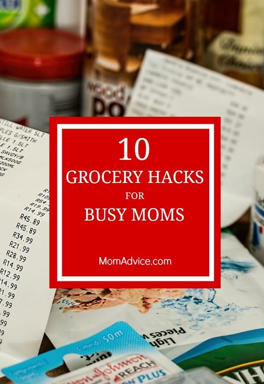 10 Top Grocery Hacks for Busy Moms