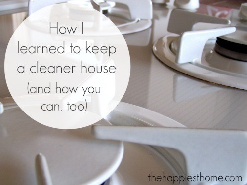 Advice and tips for keeping a cleaner house