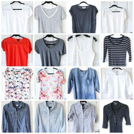Spring and Summer 2016 Fashion Capsule Wardrobe