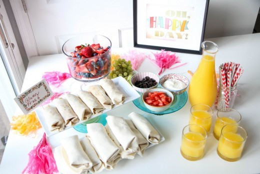 Make-Ahead Sleepover Breakfast Buffet