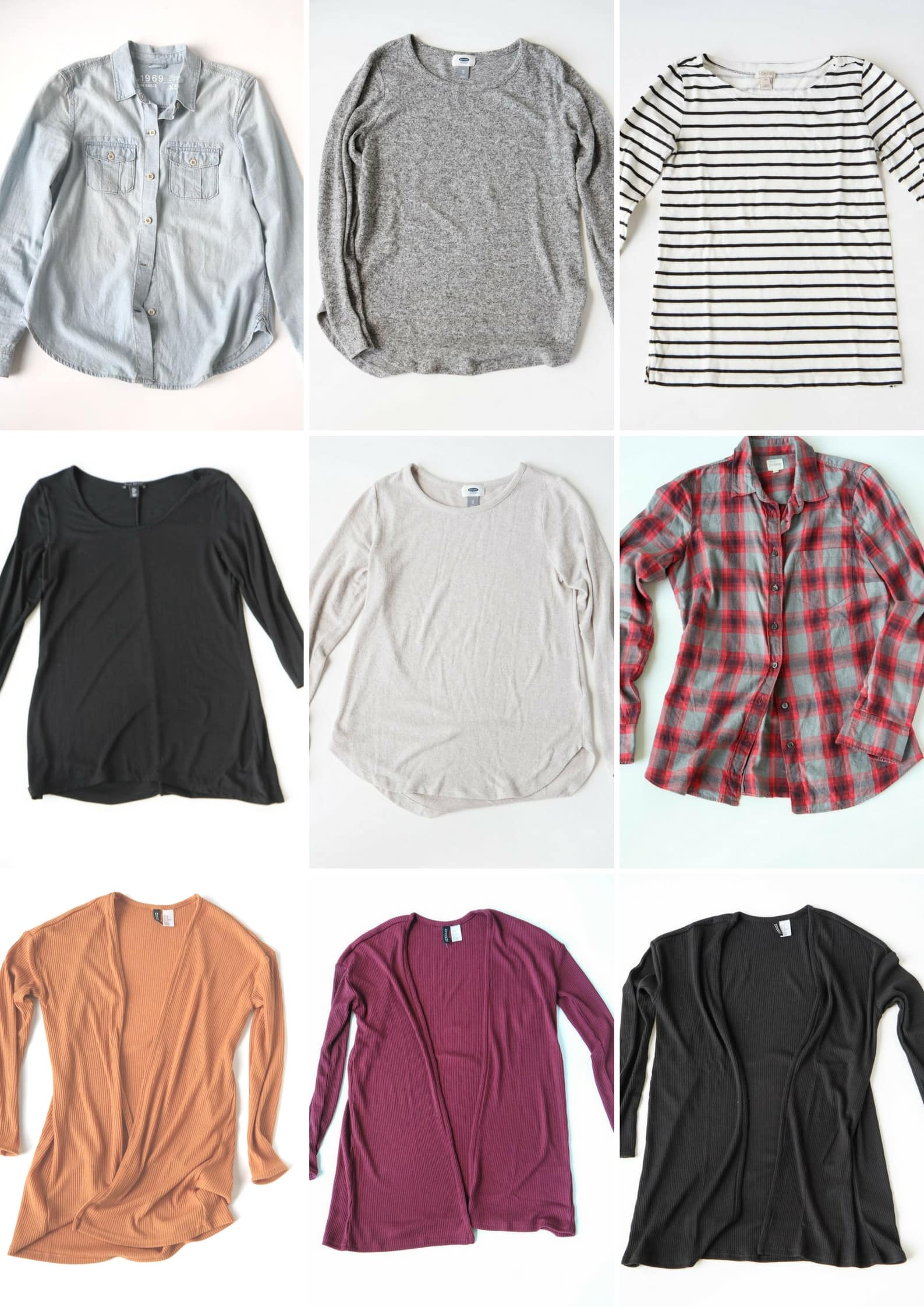 Fall/Winter 2106 Fashion Capsule Wardrobe